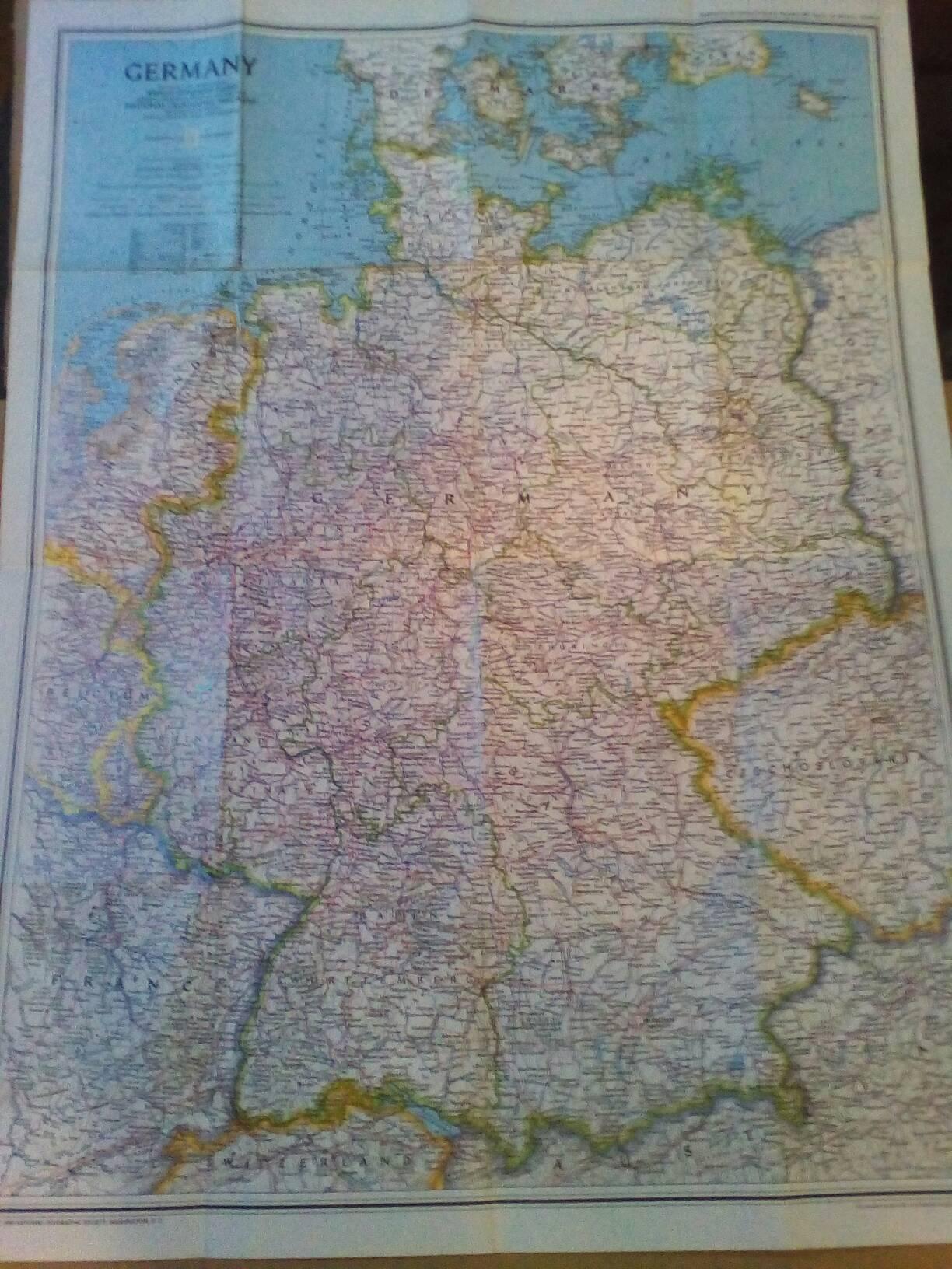Automobili Oprema Mapa Nemacke 21 03 2020 Id 85284131