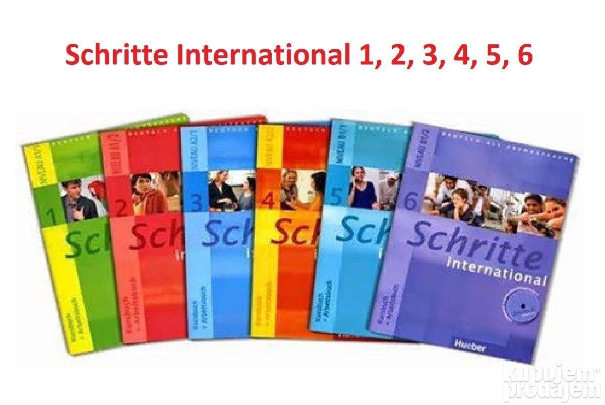 Knjige : Nemacki kurs Schritte i Schritte NEU, komplet + OSTALO 05.09.2020  - ID 72430063 - KupujemProdajem