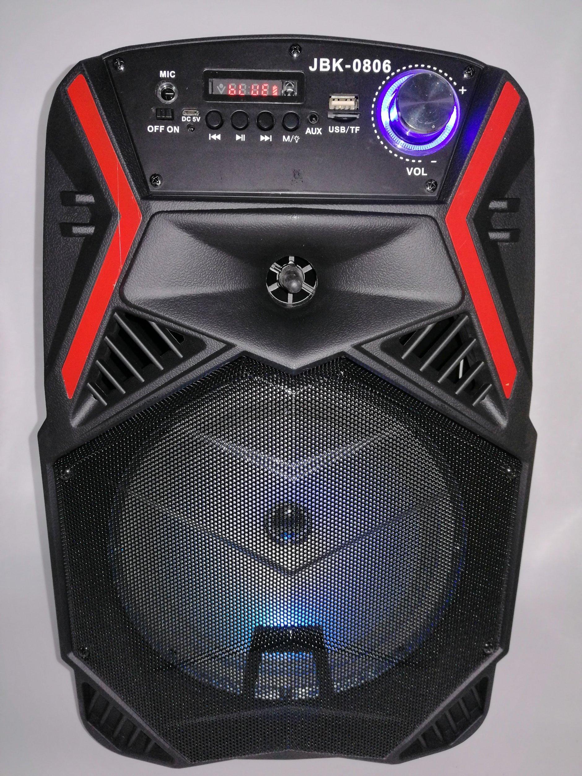Audio Zvucnik Karaoke Bluetooth Zvucnik Jbk 0806 Novo 21 07 2020