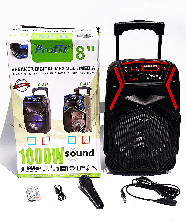 Audio Zvucnik Bluetooth Zvucnik Sa Mikrofonom P 812 18 07 2020