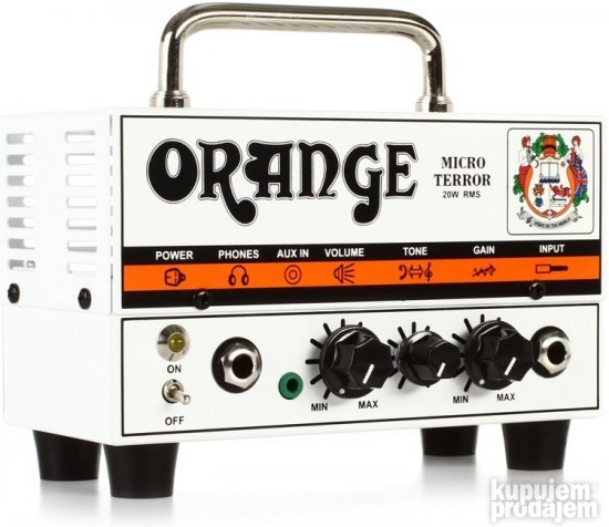Orange MT20 Micro Terror Head