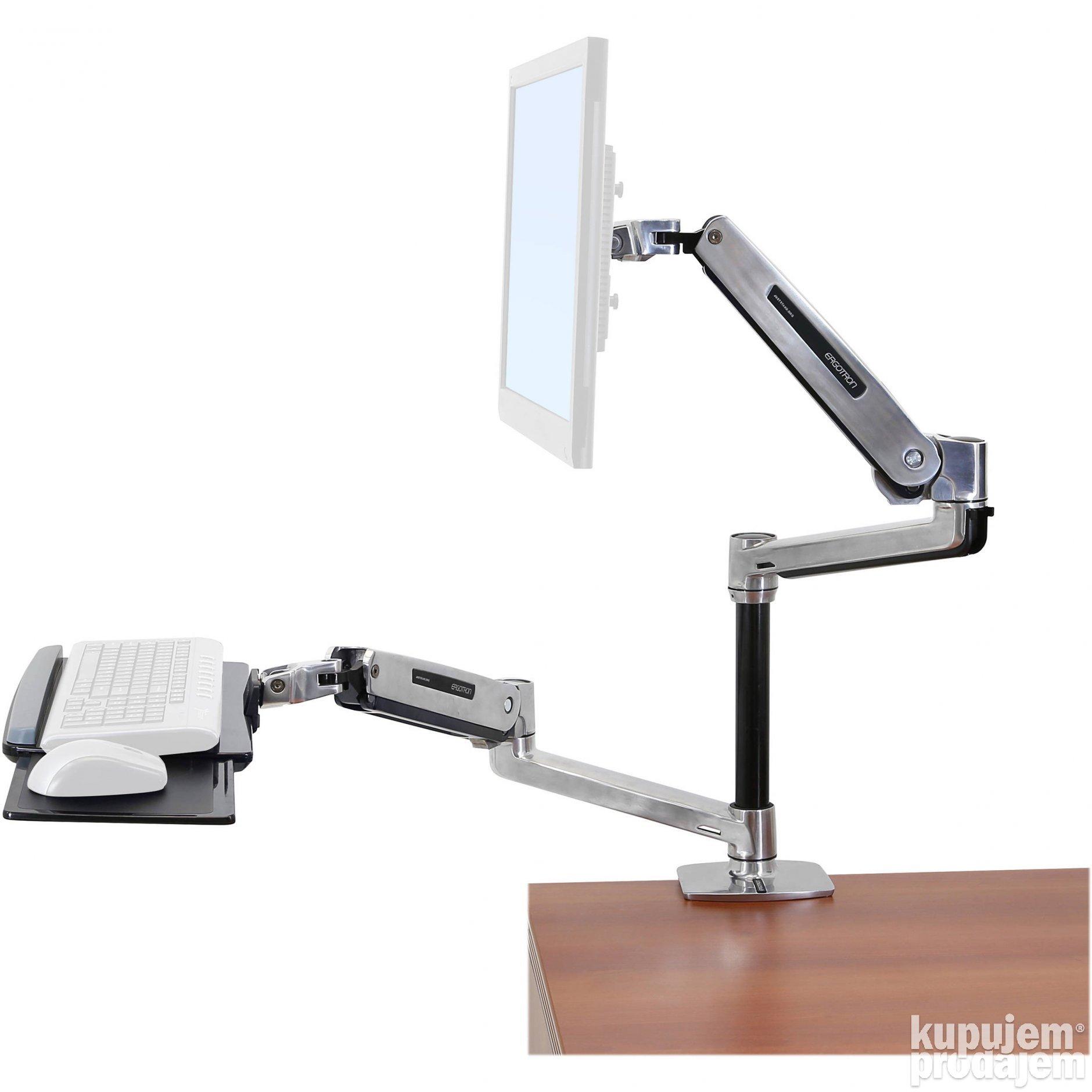 Kompjuteri   Desktop : ERGOTRON WorkFit-LX Sit-Stand Desk Mount System 21.10.2020 - ID 97262357 ...